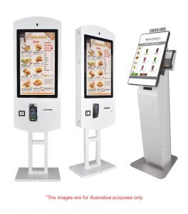 self ordering kiosk system lebanon, dubai, italy